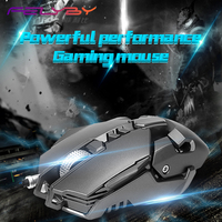 FELYBY Brand High Quality Wired Professional Gaming Mouse Computer Mice Gaming Mouse LED USB Mouse DPI