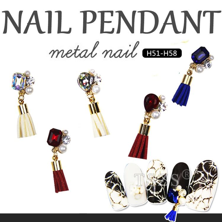 Herzhaft 3 Teile/los Nagel Anhänger Metall Legierung 3d Strass Nail Art Glitters Diy Dekoration Ruf Zuerst Schönheit & Gesundheit