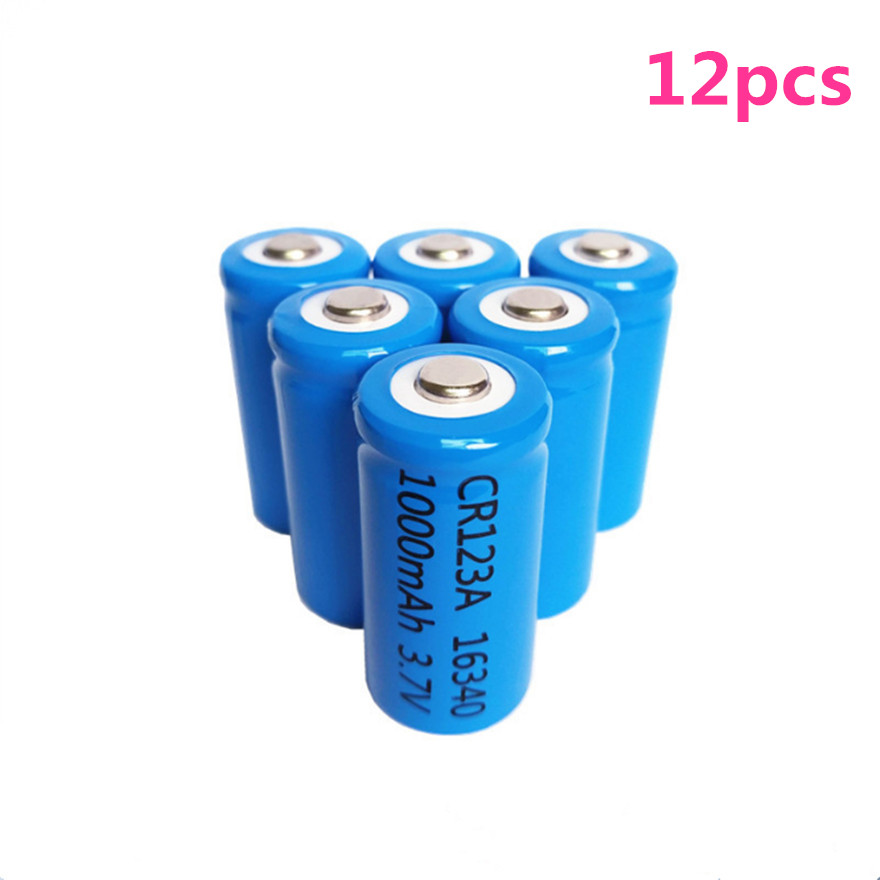Batteries Diy Nickel Piece For Laser Pen Led Torch Discounts Price Power Source 3.7v 1200mah High-discharge Current Li-ion Cr123a 16340 Rechargeable Lithium Battery