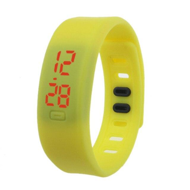 Nuovo relojes hombre Rubber band donne degli uomini orologi digitali sport orologi uomo marca di lusso Da Polso Digitale trasporto di Goccia