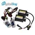 Digitalboy lámpara de Xenón H7 35 W Del Coche HID Xenon Slim Lastre de la Conversión Kit bloque para H1 H3 H8/H9/H11 880 881 9005 9006 Coche faro
