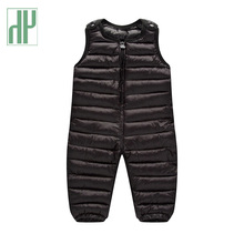 Winter cotton bib pants overalls for toddler waterproof trousers 1-5 years