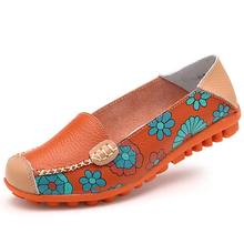 Women's Shoes with Floral Pattern