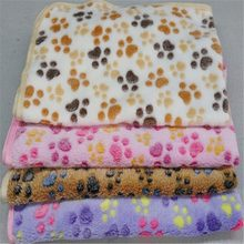 Cat Bed Rest Dog Blanket Winter Foldable Pet Towel Cushion Soft Coral Cashmere Soft Warm Sleeping Mat Sweet Dream Bed(China)