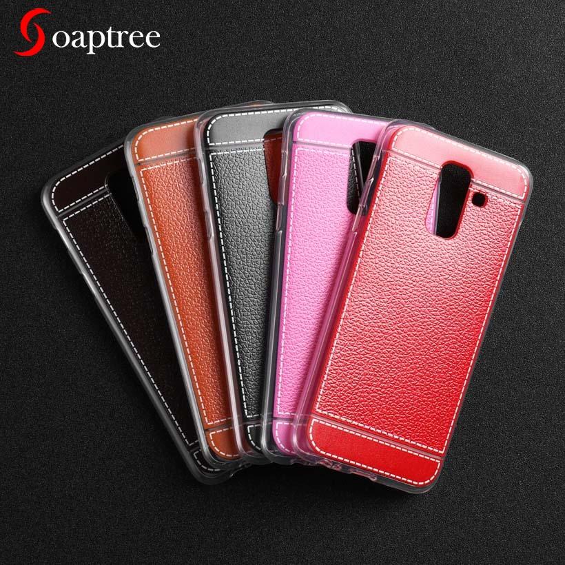Silicone Case For <font><b>Samsung</b></font> Galaxy A3 A5 A6 A7 A8 A9 A9S Plus 2014 2016 2017 2018 A310 A500F A510 A520 A720 A730F A750F TPU <font><b>Cover</b></font> image
