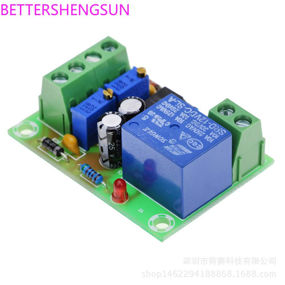 XH-M601 Battery 12V Intelligent Device Power Supply Control Board Automatic Charging And Blackout Integrated Circuit (IC)