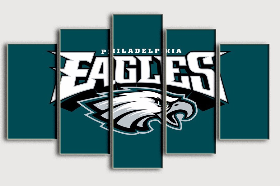 Painting Philadelphia Eagles Top Selling Living Room