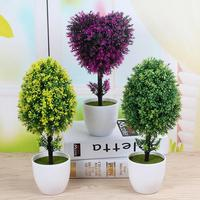 Peace Tree Artificial Flower Plant Potted Creative Living Room Desktop Wedding Holiday Decoration Green Plant Bonsai