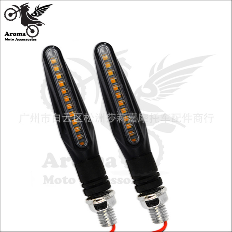 free shipping motorbike LED indicator accessorie scooter moto blinker ATV Off-road motorcycle flasher pit bike turn signal light