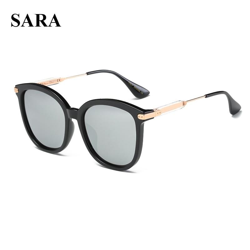 SARA Luxury Brand Designer Sunglasses Women Square Shades Driving Eyewear Glasses Retro Female Polarized Gafas De Sol Feminino