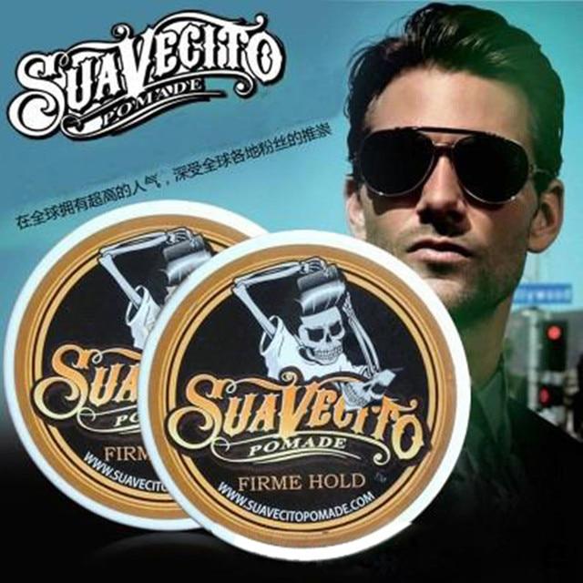 Suavecito помада сильный стиль восстановление волос воск для волос Скелет волос зализанными масло для волос воск грязи сохранить волосы помада мужчин нет оригинальный