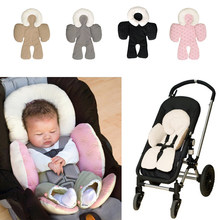 Baby Infants Head Pillow Cushion Body Support For Car Seats Strollers(China)