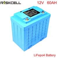 Ücretsiz Gümrük vergileri derin döngüsü 12 v lityum iyon pil paketi lifepo4 12 V güneş enerjisi depolama için 60Ah batterypower depolama bisiklet