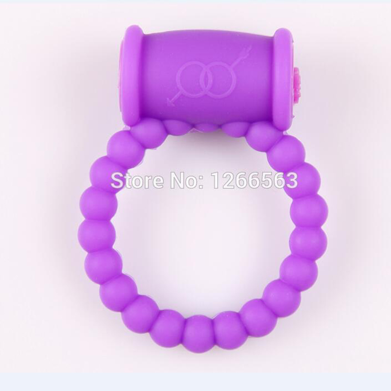 Male Cock Ring Sex Products For Men Soft Silicone Penis Ring Vibrator Adult Sex Toys -6915