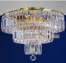 Кристалл потолок лёгкие светильник современный потолок лёгкие 120 V 220 В золото потолок лёгкие освещение лампа гарантировано 100%