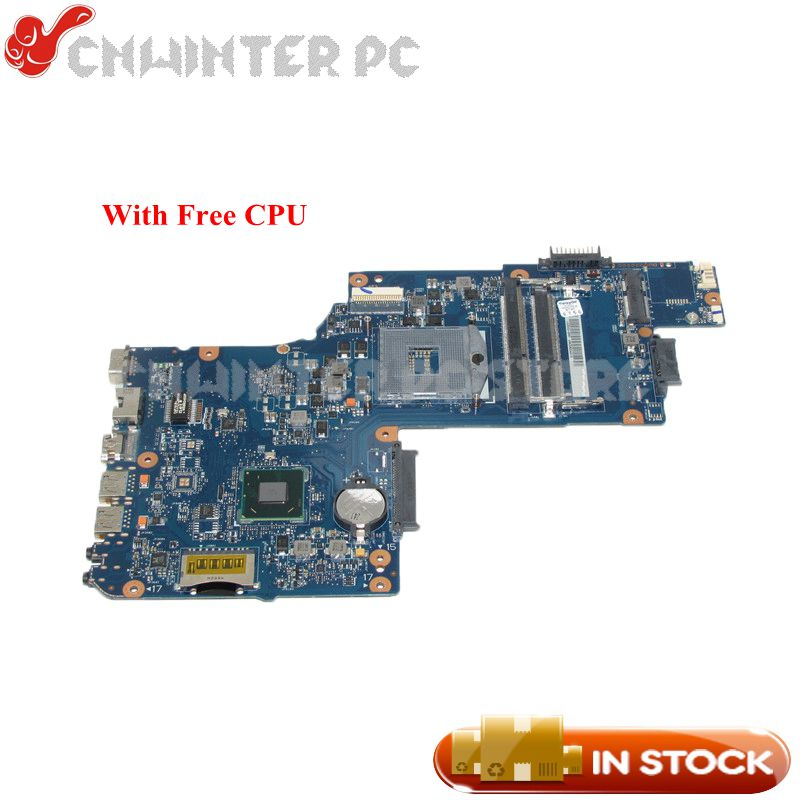 NOKOTION New H000050780 Main Board For Toshiba Satellite L850 C850 Laptop motherboard HM70 DDR3 Free CPU image
