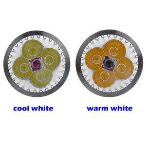 Image 4 - 1pcs 슈퍼 밝은 9W 12W 15W GU10 LED 전구 110V 220V Led 스포트 라이트 따뜻한/자연/멋진 화이트 GU 10 LED 램프