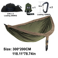 Hammock Length 300cm width 200cm Double Person Use