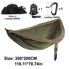 Hammock Length 300cm width 200cm Double Person Use
