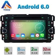 Android 6 Octa Core 2 GB RAM 32 GB ROM Reproductor de DVD Del Coche Radio Stereo GPS Para GMC Yukon Sierra Chevrolet Avalancha Equinox HHR Tahoe