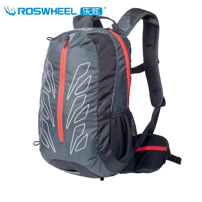 Prix pour Roswheel 15l sac de sport étanche randonnée camping escalade cyclisme sac à dos avec housse de pluie hommes femmes sacs à dos camelback