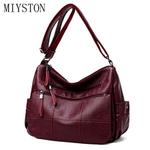 Classic Women Leather Handbags High Quality Shoulder Bags Ladies Handbags Fashion Brand Crossbody Tote Messenger Bags