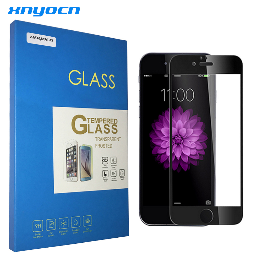 Tempered Glass For <font><b>iphone6</b></font> Original For iphone 6S 7 Plus Glass Soft Edge Screen Protector <font><b>Film</b></font> 3D Full Cover Anti Blue Light image