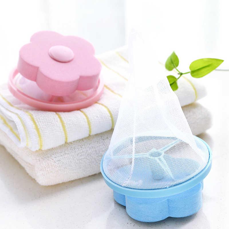 フィルターバッグメッシュフィルタリング脱毛ストッパーデバイスワッシャーキャッチャー洗濯浴室製品ガジェット