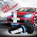 H11 6500 k cree fichas csp oslamp todo-en-uno led headlight kits 2wd/4wd Frente Auto Car SUV Led Faros Antiniebla Bombillas sin Ventilador Serie S1