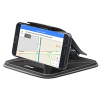 IPOW Universal Sticky Non Slip Dashboard Pad Phone Mount GPS Holder Table Stand Fits Mobile