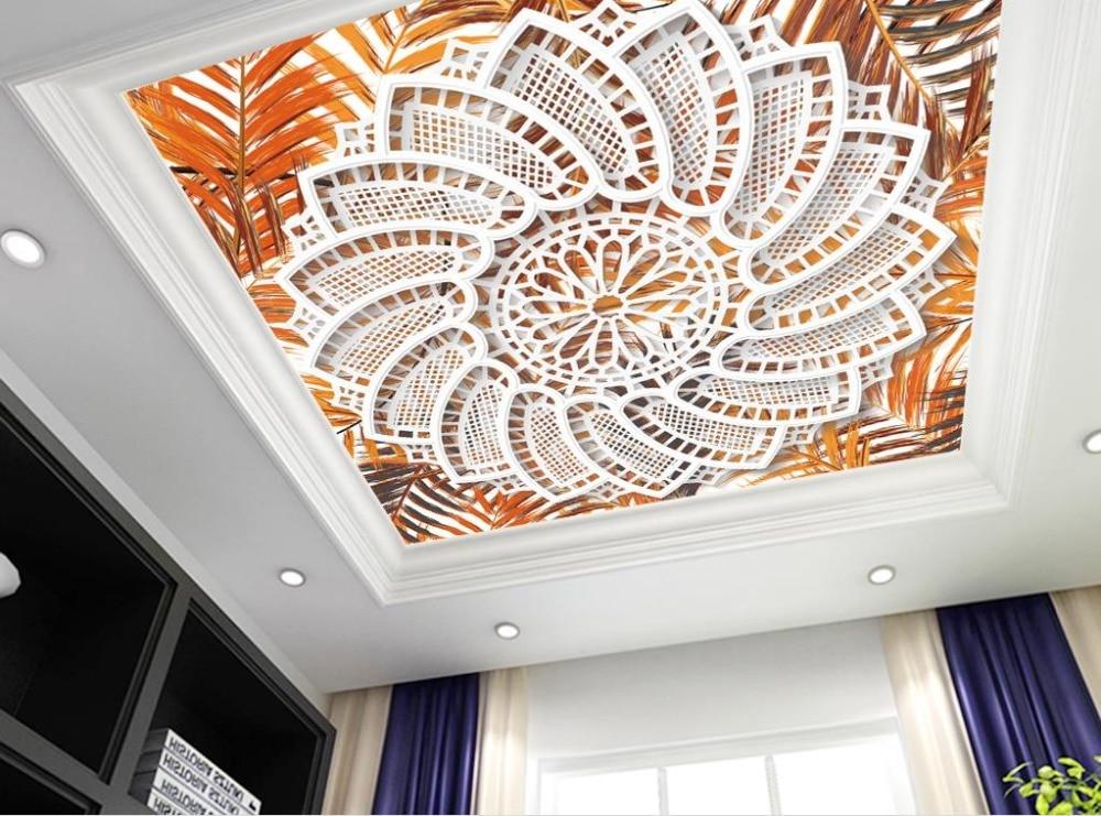 10 71 61 De Réduction Creative Non Tissé Papier Peint Motif 3d Plafond Peintures Murales De Papier Peint Salon Marocain Marbre Décoration Papier