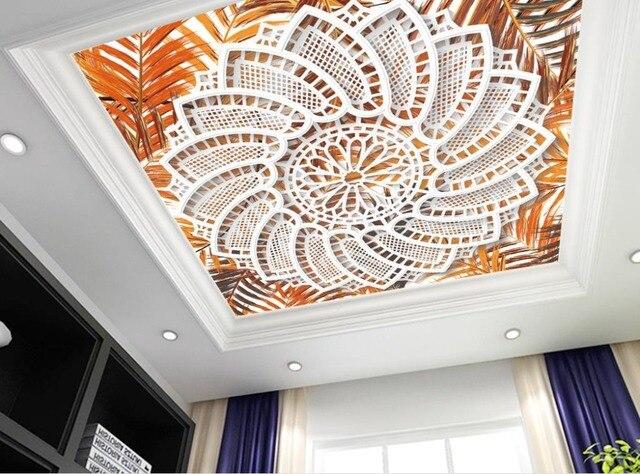 kreative vlies tapete muster 3d decke wandbilder wallpaper marokkanisches wohnzimmer marbre dekoration decke tapete - Vliestapeten Muster