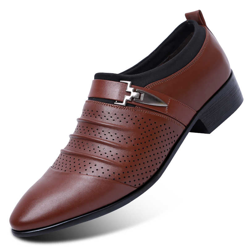 Mũi Nhọn Trọng Người Đàn Ông Cưới Giày Oxford Nam Đầm 2020 Nam Oxfords Giày Da Nam Zapatos Hombre vestir