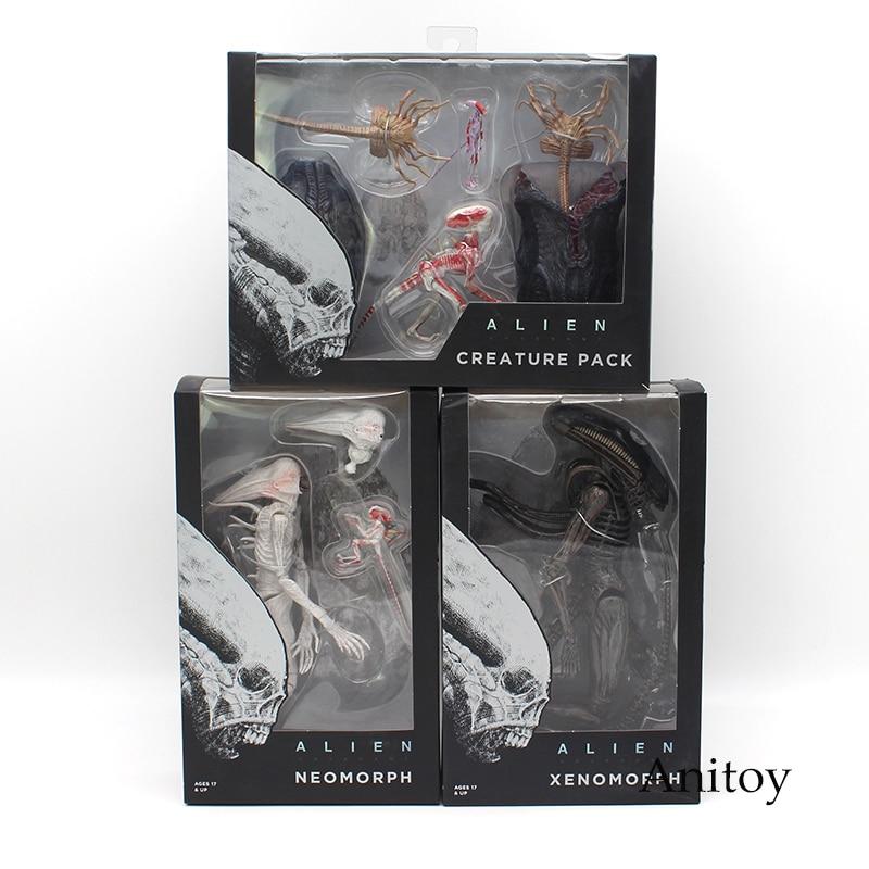 NECA ALIEN Xenomorph Neomorph Creature Pack PVC Action Figure Collectible Model Toy