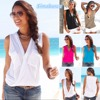 Casual Summer T Shirts Women Multicolor Tops Deep V Neck Open Bust Strapless Women Hollow Out