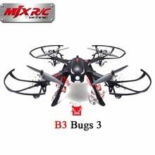 B3 ошибки 3 rc quadcopter mjx безщеточный 2.4 г 6-осевой rc гул с камерой крепления для gopro/xiaomi/xiaoyi камера детей toys