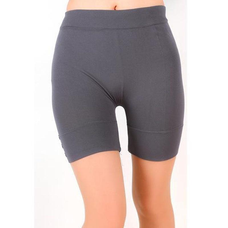 Women's Casual Short Sporting Leggings Solid Summer Leggings Slim Fitness High Stretch