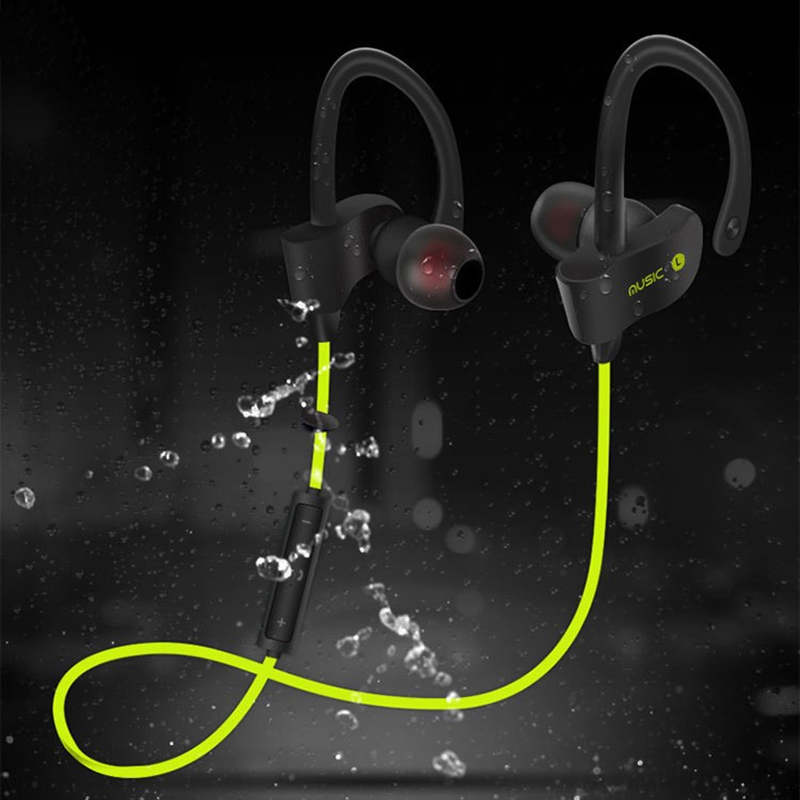 In-Ear Stereo Bluetooth Earphone With Mic Sport Running Wireless Earbuds Headset Bass Earphone for iPhone Samsung Phone baseus magnetic bluetooth earphone for iphone 7 samsung s8 wireless sport running stereo in ear earbuds headset mp3 mp4 earpiece