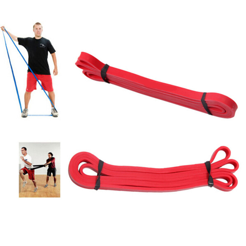 Natural Latex Crossfit resistance bands fitness gym power training powerlifting