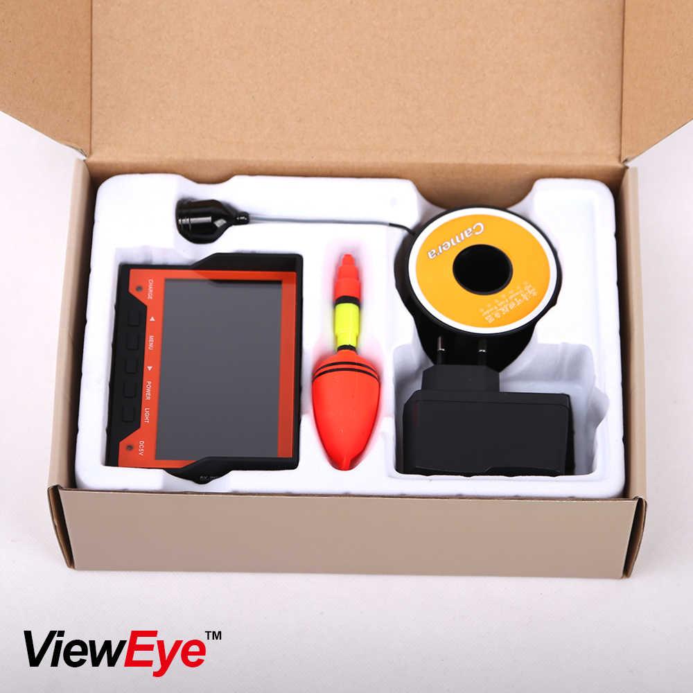"ViewEye Original 15M 1000TVL Fish Finder Underwater Ice Fishing Camera 4.3"" LCD Monitor 8 LED Night Vision Camera For Fishing"
