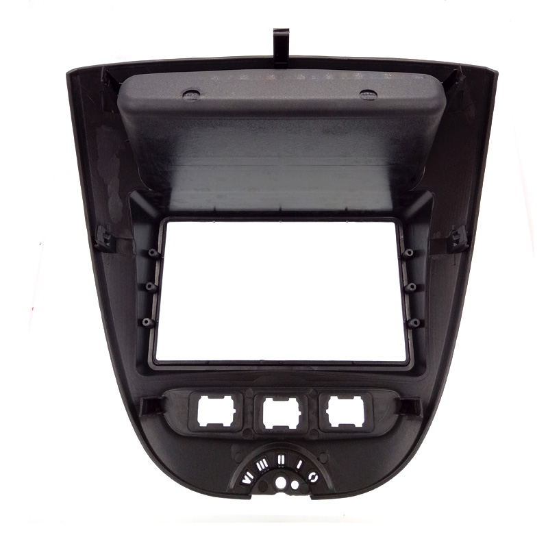Image 3 - 2DIN High Quality Car Radio Fascia For Toyota Aygo/For Peugeot 107/Citreon C1 can't use for UK, Germany, Poland, Italy-in Fascias from Automobiles & Motorcycles