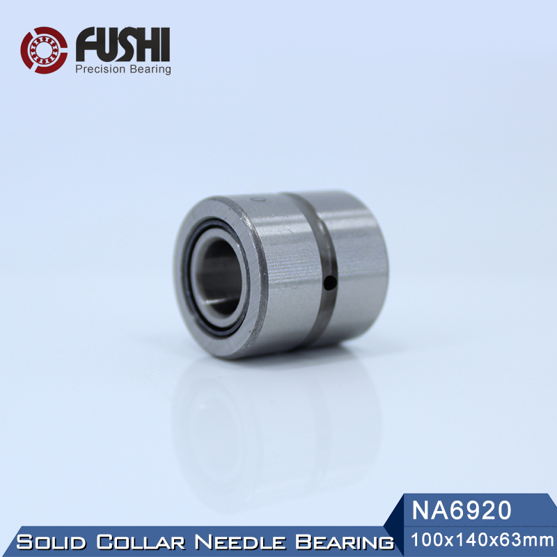 NA6920 Bearing 100*140*63 mm ( 1 PC ) Solid Collar Needle Roller Bearings With Inner Ring 6534920 6254920/A Bearing sce2020 bearing 31 75 38 1 31 75 mm 1 pc drawn cup needle roller bearings b2020 ba2020z sce 2020 bearing