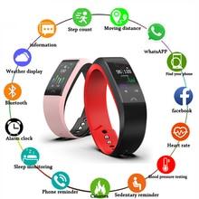 New IP68 Waterproof Sports Smart Watch Men Women Pedometer Blood Pressure Oxygen Monitoring Smartwatch+ Box