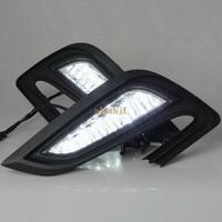 July King LED Daytime Running Lights DRL 6000K LED Fog Lamp Assembly Case For Buick Encore