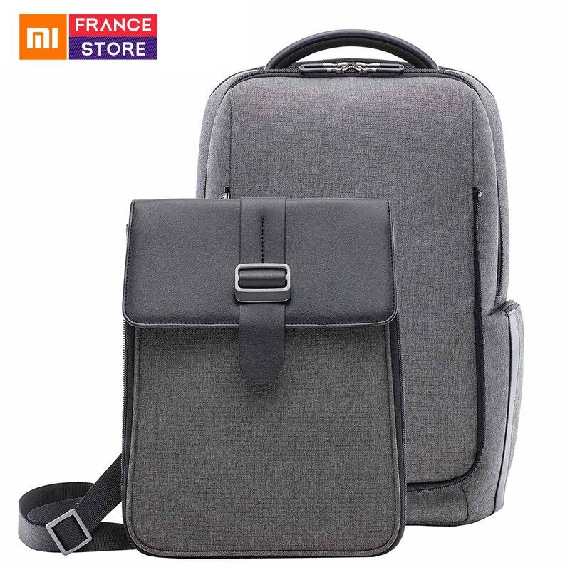 Nouveau Xiaomi Fashion Business sac à dos amovible avant sac étanche grande capacité ordinateur portable pour hommes et femmes d'affaires sac de voyage