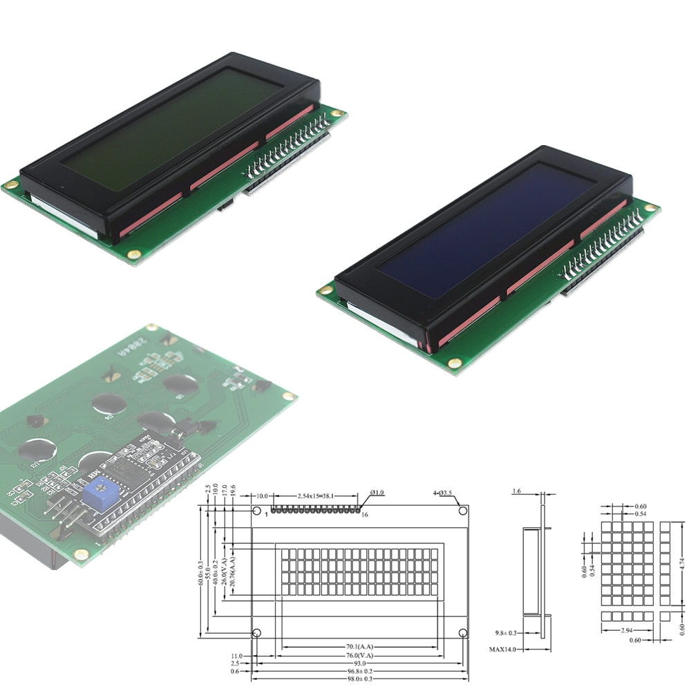 All kinds of cheap motor lcd 20*4 i2c in All B