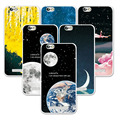 FOR Lenovo A2020 A2020a40 Couple Style Phone Case Space Stars Fantasy Art Print Back Cover For Lenovo Vibe C / A2020 Soft Capa