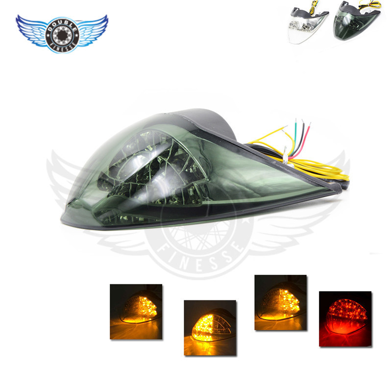 ФОТО 2015 hot selling smoke   Integrated LED Tail Light   Motorcycle accessories  2 colors light  fit for KTM DUKE 990