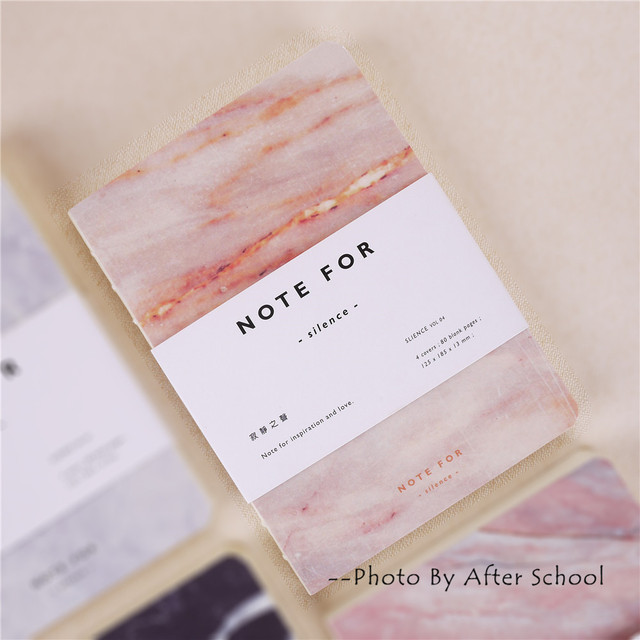 Note For Silence Series Notebook Office School Schedule Stationery