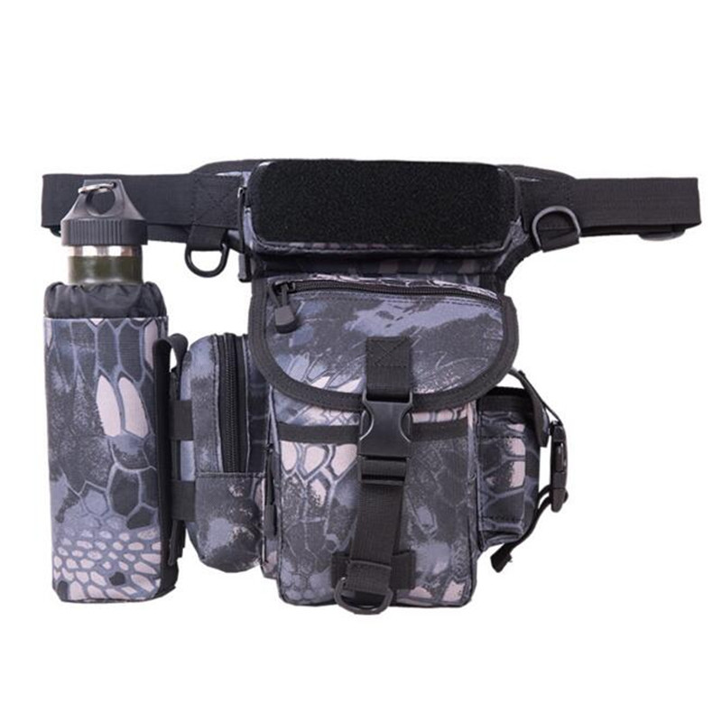 Saddle bags legs hanging bag waterproof multifunctional nylon quality chest package bag military enthusiasts Travel Men's bag